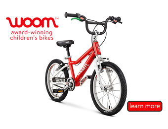 Teach your little one on a Woom Bike